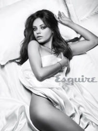 Mila Kunis in Esquire