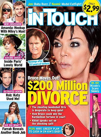 Jenner Divorce Claim