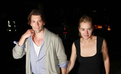 Louis Dowler and Kate Winslet: Spotted! Holding Hands!