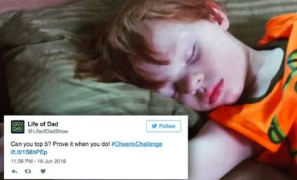 Fathers Take #CheerioChallenge, Crack Up Internet