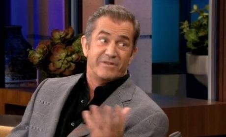 Mel Gibson on The Tonight Show