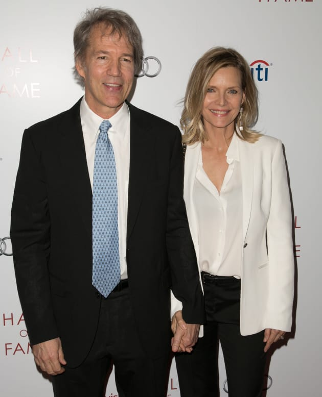 David E. Kelley and Michelle Pfeiffer Photo