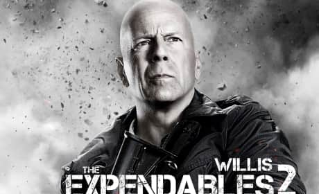 Bruce Willis in Expendables 2