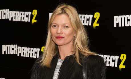Kate Moss on the Red Carpet