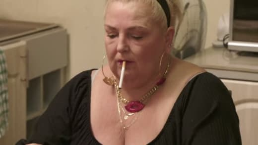 Angela Deem smokes indoors like it's 1983