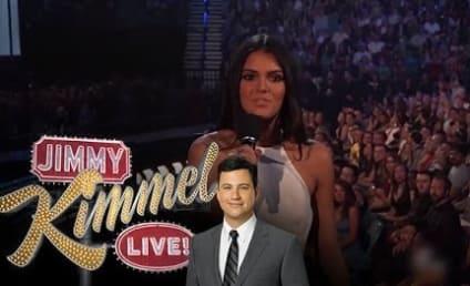 Jimmy Kimmel Mocks Kendall Jenner, Presents The Kendall E-Reader