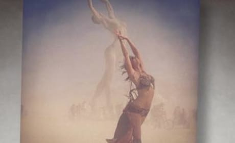 Stacey Keibler Posts Burning Man Instagram Pics
