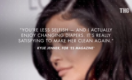 Kylie Jenner: I Love Changing Diapers!