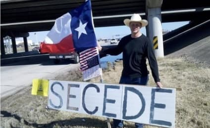 Texas Secession Movement Prompts Man to Change Middle Name to SECEDE (All Caps)