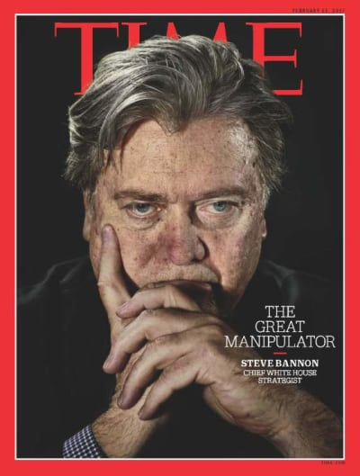 Steve Bannon Time Magazine Cover