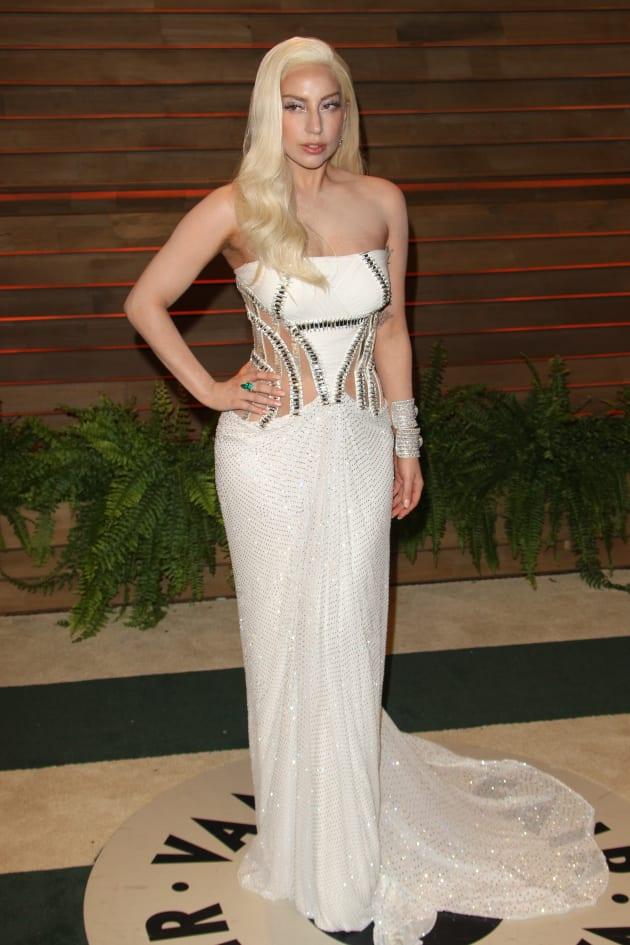 Lady Gaga on Oscars Night