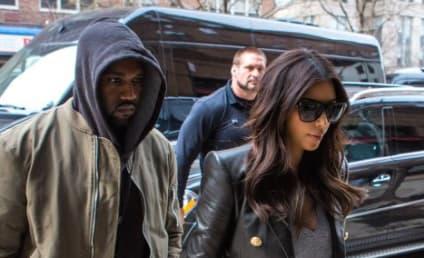 Kim Kardashian and Kanye West: NOT Yet Married!