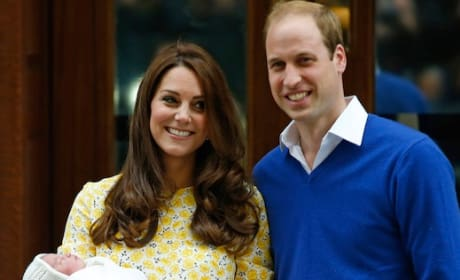Kate Middleton, Prince William and Daughter