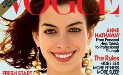Anne Hathaway Heats Up Vogue
