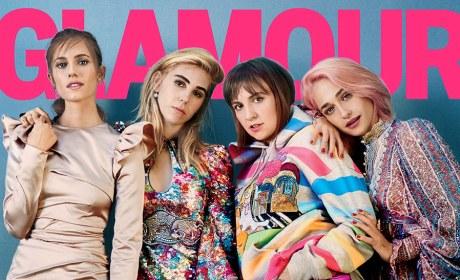 Lena Dunham Glamour Cover