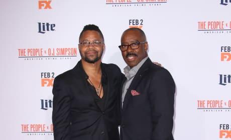 Cuba Gooding Jr. & Courtney B. Vance: 'The People V. O.J. Simpson' Premiere