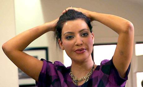 Kim Kardashian on Oxygen