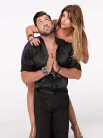 Kirstie Alley and Maksim Chmerkovskiy DWTS Picture