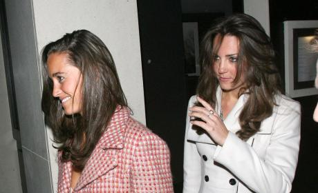 Kate and Pippa Middleton Pic
