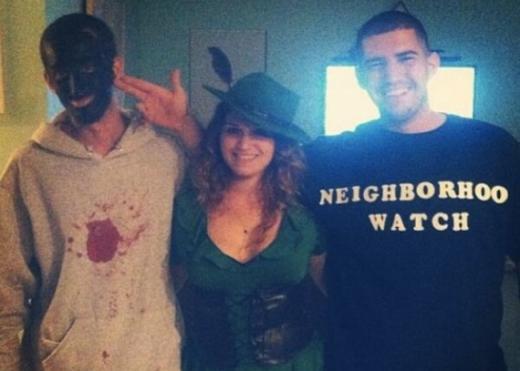 Trayvon Martin and George Zimmerman Costumes