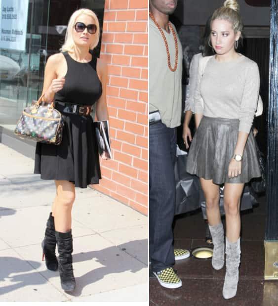 Ashley Tisdale, Holly Madison