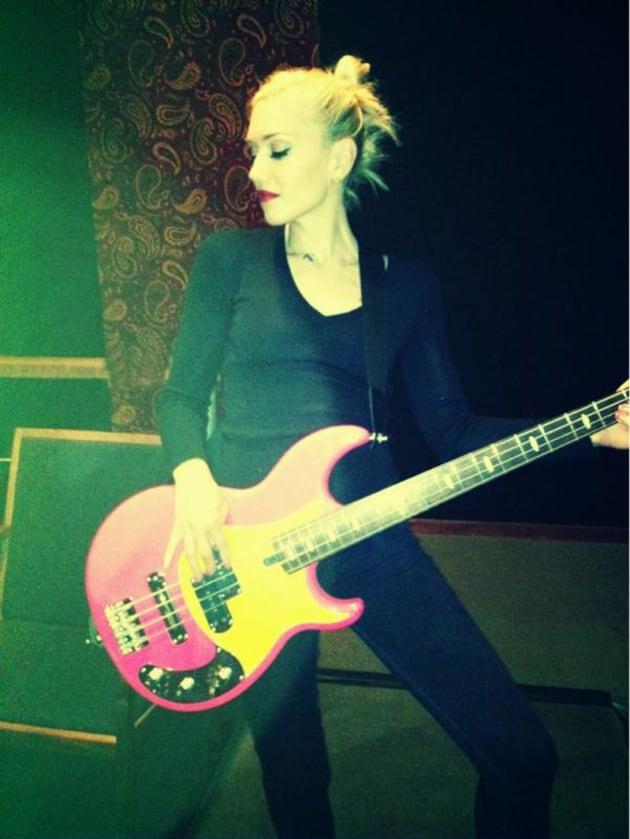 Gwen Stefani Twit Pic