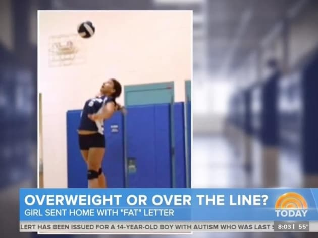 11-year-old girl sent home from school with letter informing parents she u0026 39 s fat