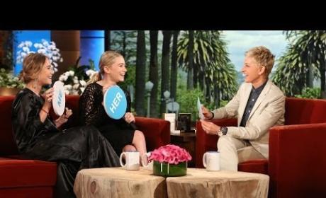 Mary-Kate and Ashley Olsen on Ellen