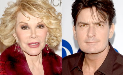 Joan Rivers on Charlie Sheen: What an A$$!