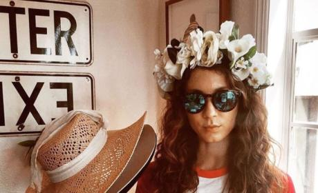 Troian Bellisario At Her Bachelorette Vacation