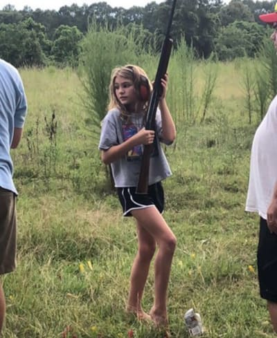 Maddie Aldridge With a Gun