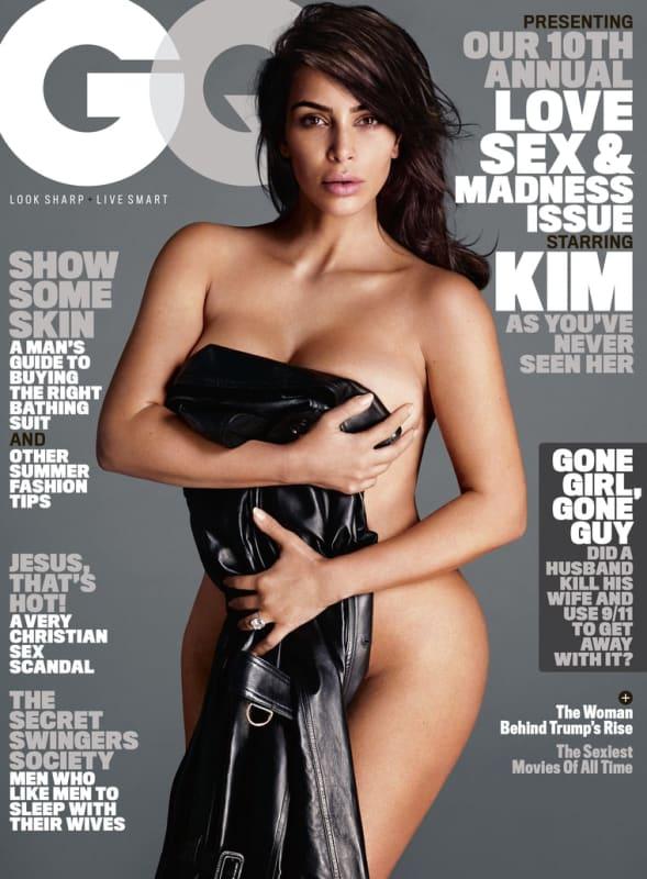 Kim Kardashian: Naked for GQ