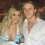 Brielle Biermann and Michael Kopech