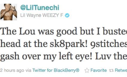 Lil Wayne Busts Fuggin Head at Sk8 Park