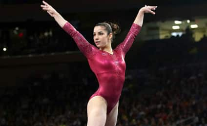 Aly Raisman Goes For Gold on Floor Exercise: How Did She Do?