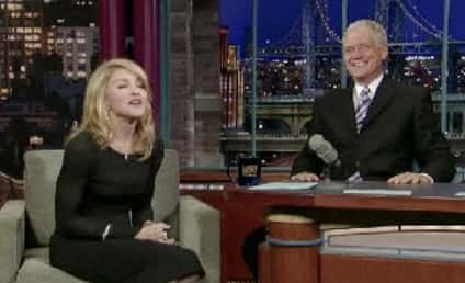 Madonna to David Letterman: Train Wreck Better Than Marriage