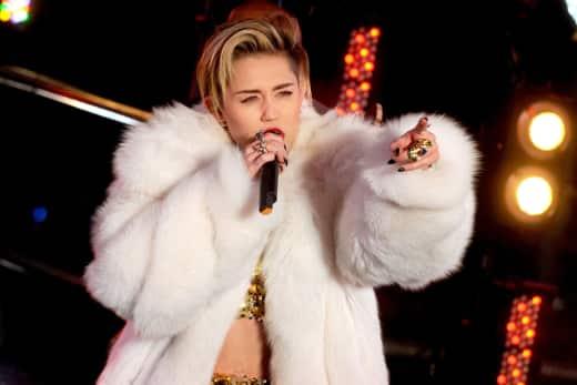 Miley Cyrus Concert Image