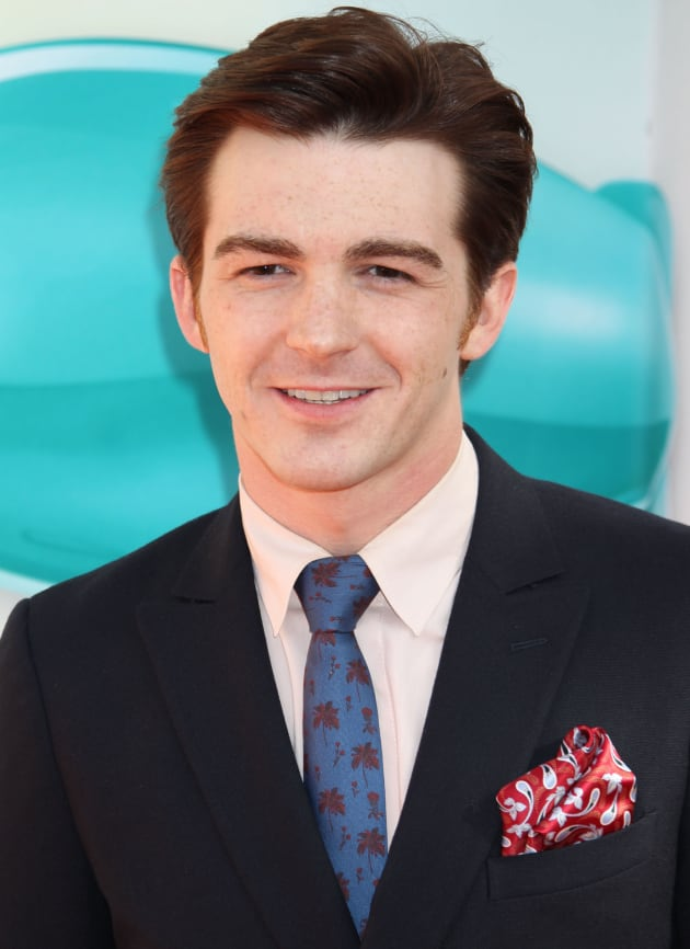 Drake Bell in a Suit