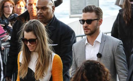 Justin Timberlake & Jessica Biel in Los Angeles