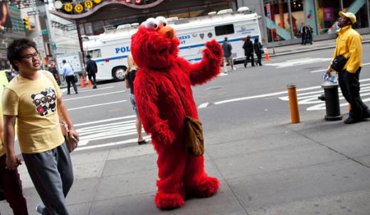 Evil Elmo Pic