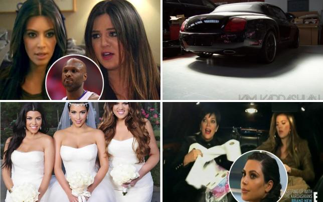 9 krazy kardashian klashes lamar sucks