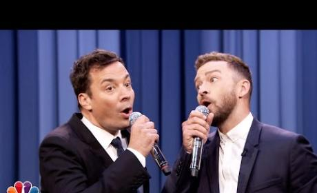 Jimmy Fallon and Justin Timberlake Perform History of Rap, Part 6
