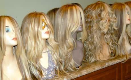 Kim Zolciak, Real Hair