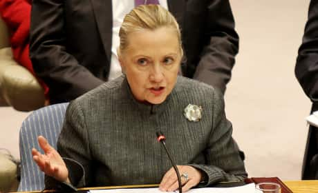 Hillary Clinton at the UN