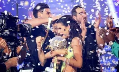 Melissa Rycroft and Tony Dovolani Win