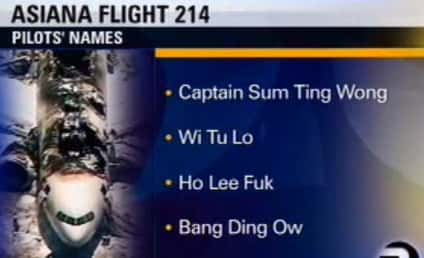 Asiana to Sue TV Station Over Racist, Bogus Pilot Names Prank
