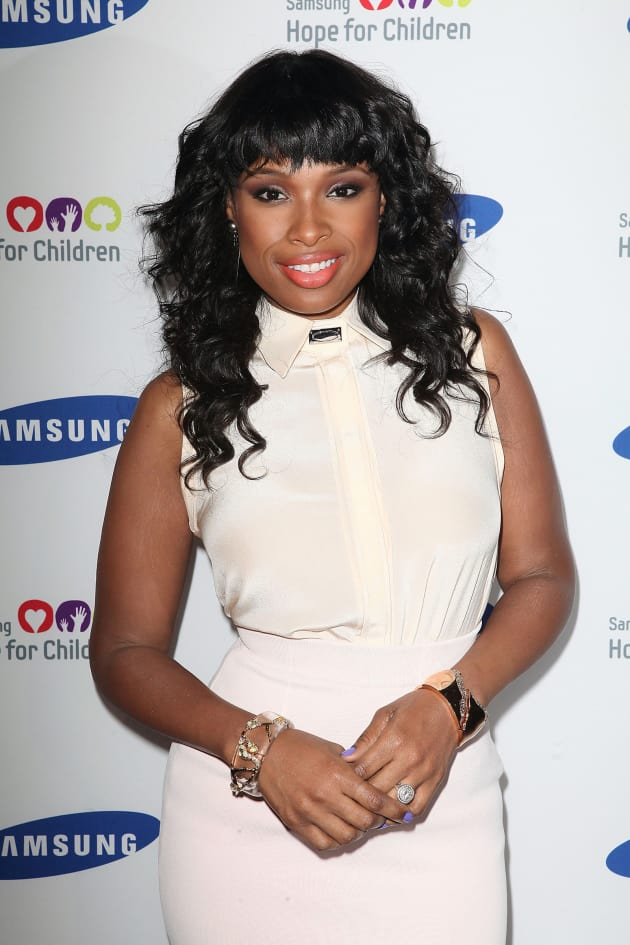 Jennifer Hudson in NYC