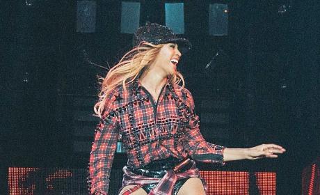 Beyonce in Barcelona