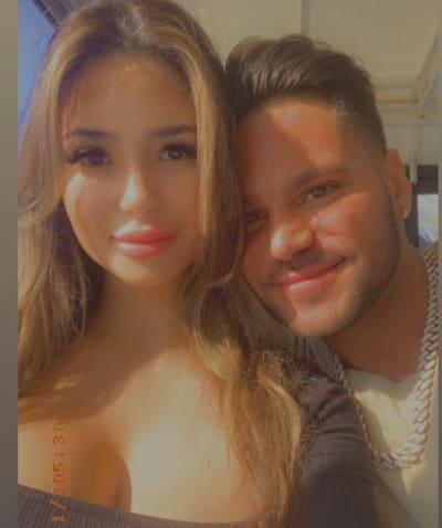 Ronnie Ortiz-Magro, New Girlfriend