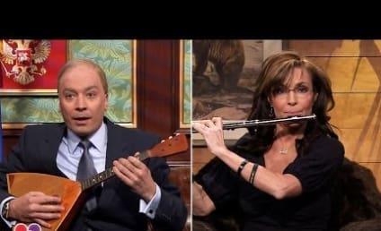 """Sarah Palin Calls """"Vladimir Putin"""" on The Tonight Show"""
